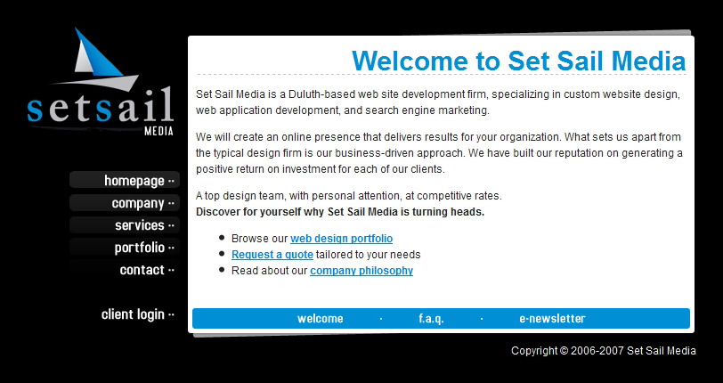Best Web Designers In Oklahoma City 2013 And We Re In The Top Five Oklahoma Web Design Set Sail Media Duluth Mn