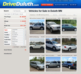 Drive Duluth Custom Website Development