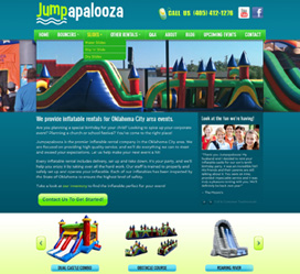 Jumpapalooza OKC Website Redesign