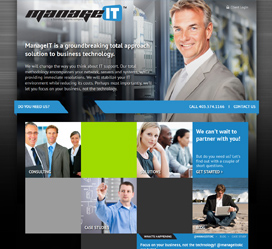 Website Design for Oklahoma City Managed IT Provider ManageIT